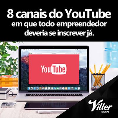 2ee00bff8f3 8 canais do YouTube em que todo empreendedor deveria se inscrever já